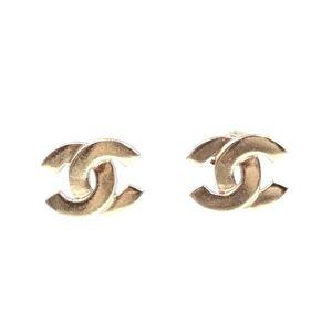 Classic Timeless Cc Hardware Pierced Earrings